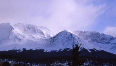 Cerro Del Medio desde Ushuaia