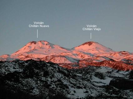 Atardecer en el Vn. Chillán