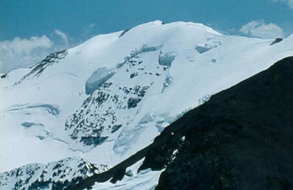 Cumbre y glaciar