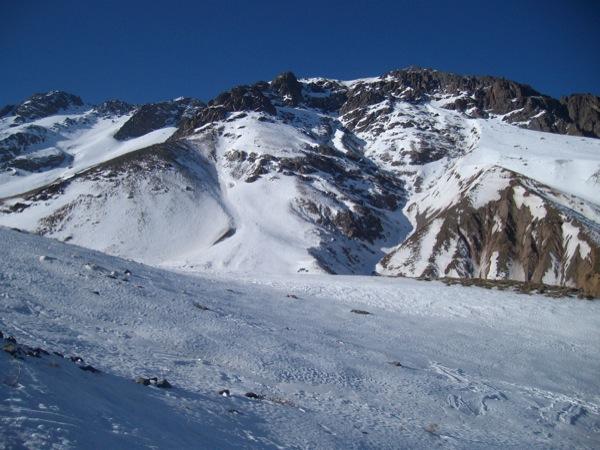 Cara Oeste Cerro Rubillas Sur