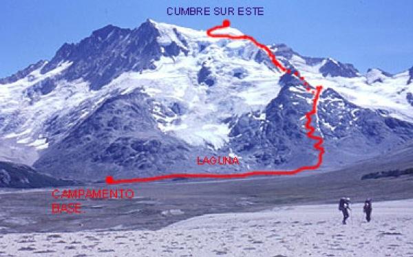 Pared Sur cerro Hermoso