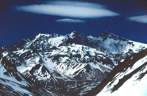 Cerro Marmolejo desde el norte