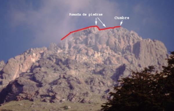 Vista del cerro desde el camping Antahuara