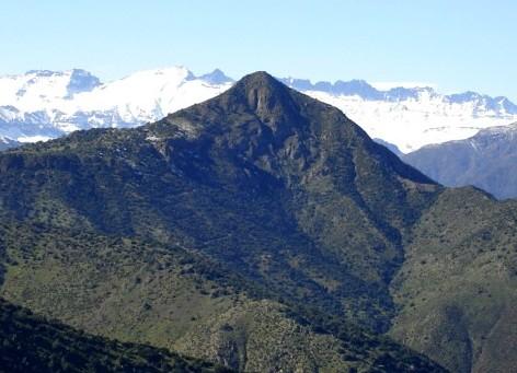 Cara Norte del Manquehue