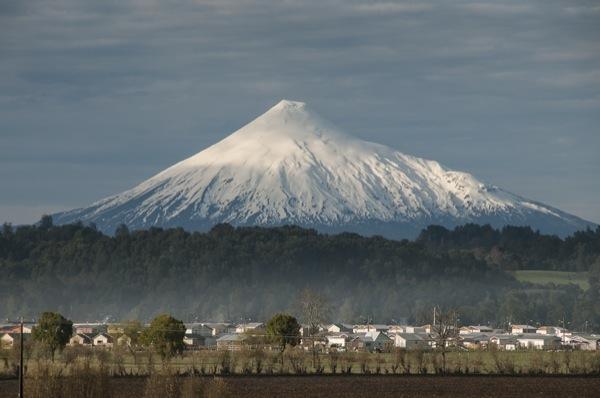 Volcán Osorno desde Entre Lagos