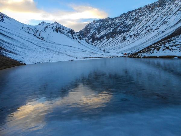 Laguna Los Patos Invernal.