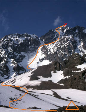 Ruta Normal Pico Negro